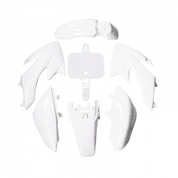 Kit plasticos crf 50 blanco