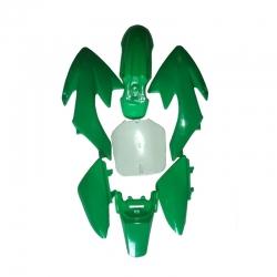 Kit plasticos crf50 verde