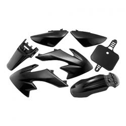 Kit plasticos crf50 negro