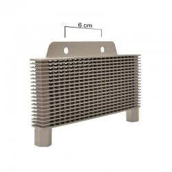 Radiador aluminio 16,5 x 7 cm